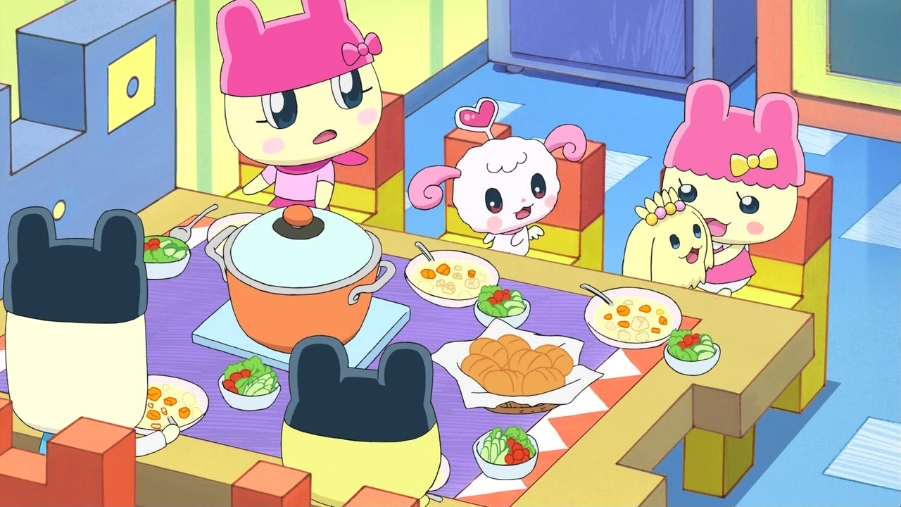 Mametchi Family's Supper