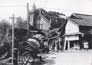 1940馬偕街口與教堂