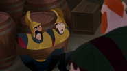 S03E03 Stan and Pete tied up to a barrel