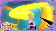 Hair Moves Inside the Journal Tangled The Series Disney Channel