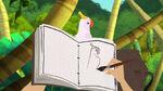 Rapunzel's Journal Bird drawing