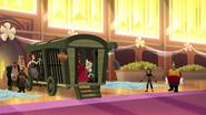 TBEA Rapunzel's hair pulls the door