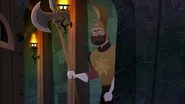 TBEA A royal guard appears in the dungeon