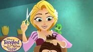 Hairdon't 👱‍♀️ Tangled The Series Disney Channel