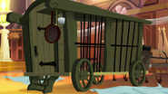 TBEA It reveals a prison carriage for the royal guests