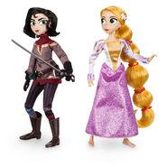 Rapunzel And Cassandra Dolls