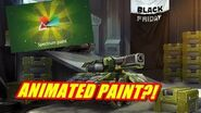 ANIMATED PAINT?! - Opening Containers - TankiOnline