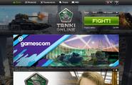 Tanki Online Homepage 2