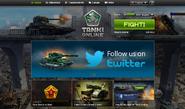 Tanki Online Homepage