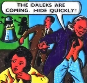 The Daleks Are Foiled (comic story)