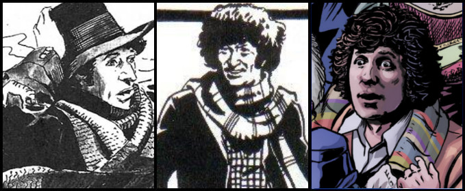 Fourth Doctor comic stories