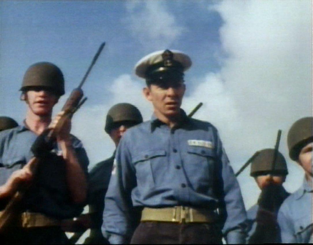 Navy men confront the Doctor.jpg