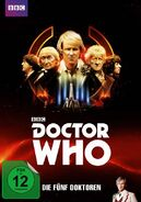 The Five Doctors DVD Germany