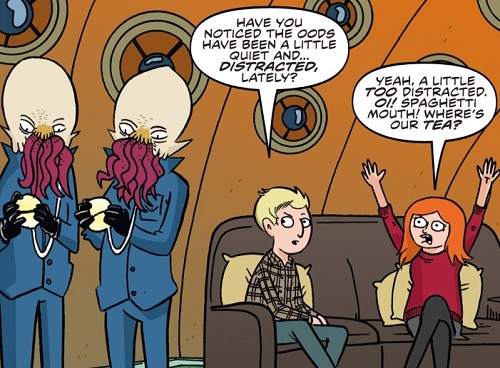 An Ood Thing to Say (comic story)