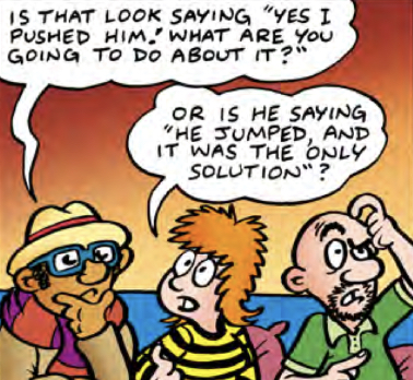 The Daft Dimension (DWM 484 comic story)