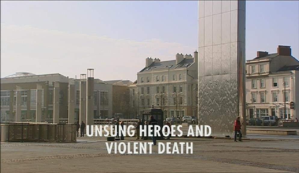 Unsung Heroes and Violent Death (CON episode)