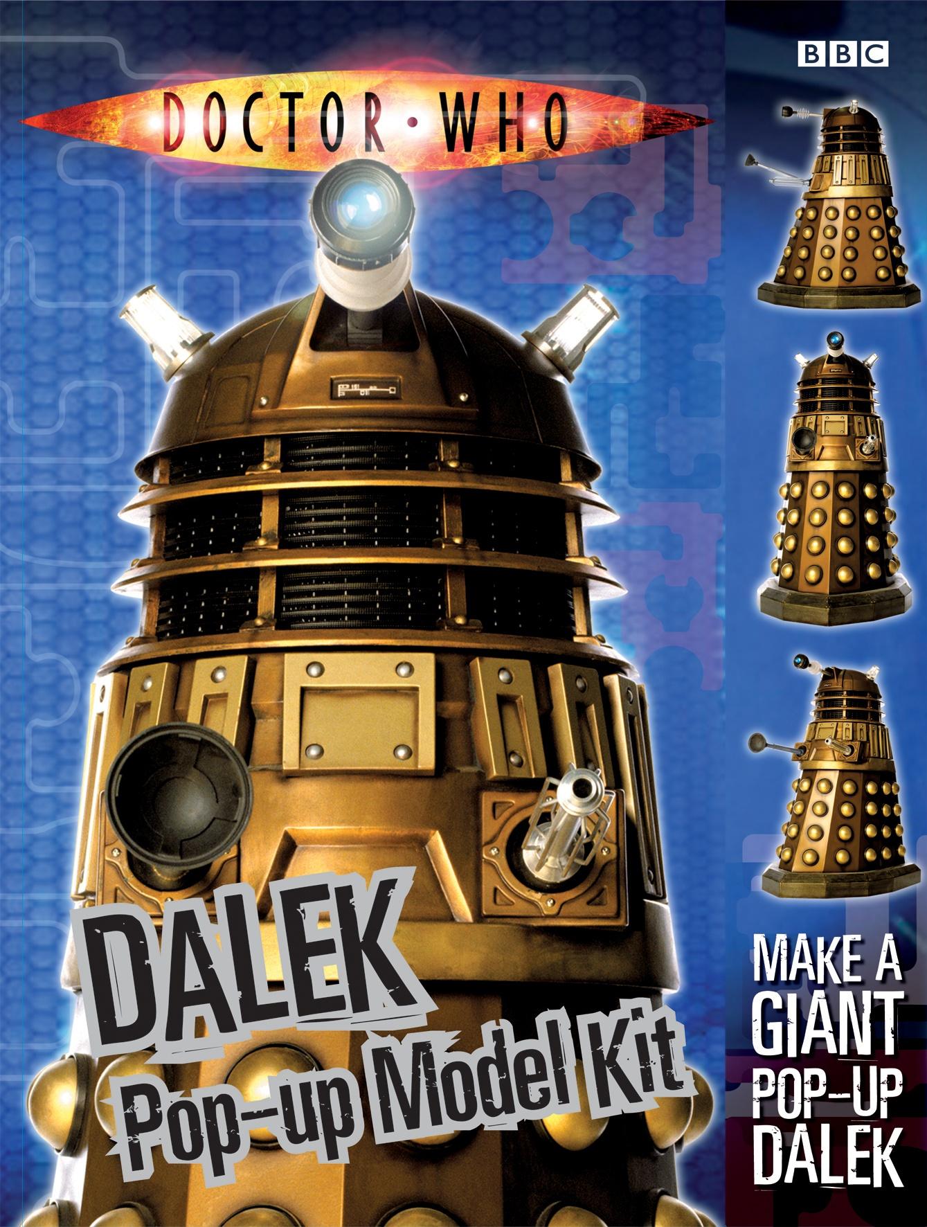 Dalek Pop-up Model Kit