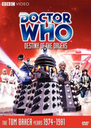 Destiny of the Daleks DVD US cover