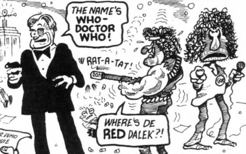 Doctor Who? (DWM 138 comic story)