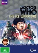 The Ice Warriors DVD Australian cover