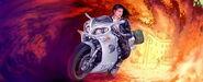 Dorotheé flees Paris on her Time bike version 2