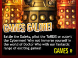 Doctor Who website games