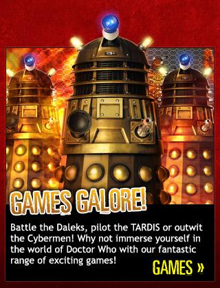 Doctor Who website games