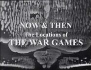 Now and Then The War Games