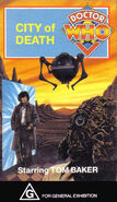 City of Death VHS Australian cover