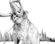 Speared Mastodon