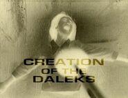 Creation of the Daleks