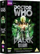 Dalek War UK DVD box set side view cover