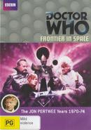 Frontier in Space DVD Australian cover