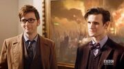 "DOCTOR_WHO_*Exclusive_Extended*_Inside_Look_Ten_&_Eleven_Together_in_""The_Day_of_The_Doctor"""