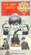 The War Games Part 2 VHS Australian cover