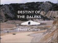 Destiny of the Daleks Photo Gallery