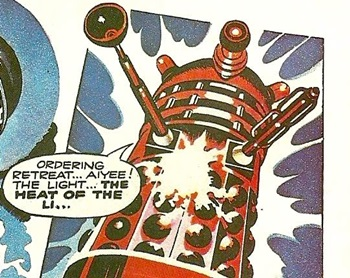 Red Dalek Leader