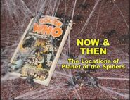 Now and Then Planet of the Spiders
