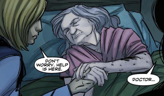 Old woman (Hidden Human History)