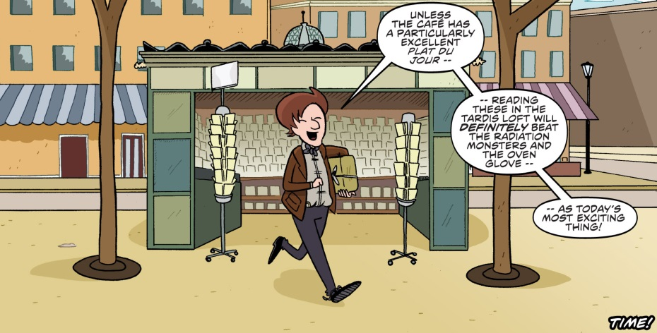 The Doctor Shops for Comics (comic story)