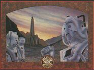 DWM FG 087 Poster Cybermen on Gallifrey