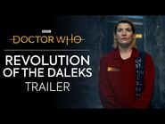 Revolution of the Daleks- Release Date Trailer - Doctor Who