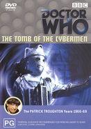 The Tomb of the Cybermen DVD Australian cover