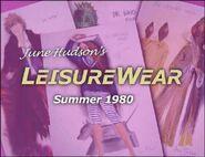 June Hudson's Leisure Wear Summer 1980