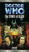 The Stones of Blood VHS US Gateway Collection cover