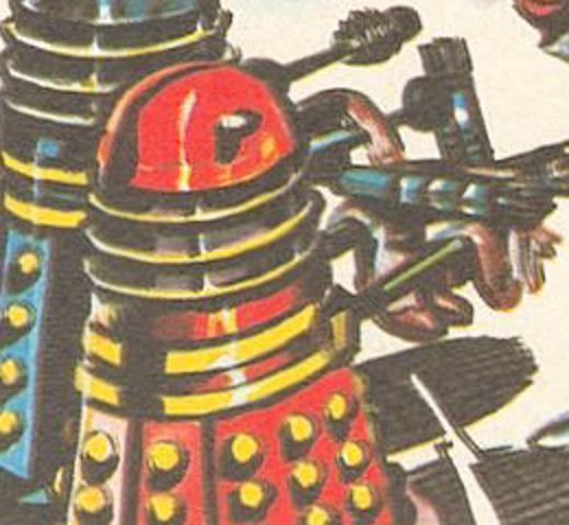 Red Dalek (The Dalek Trap)