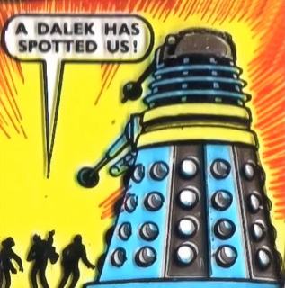 Rescued from the Daleks (comic story)