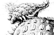Two Ankylosaurs