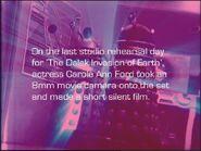 Carole Ann Ford 8mm Rehearsal Film title card