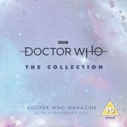 Doctor Who The Collection DWM 544 40th anniversary disc